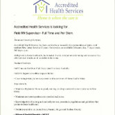 Accredited Health Services