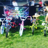 Getting kids active in the neighborhood, 1 bicycle at a time